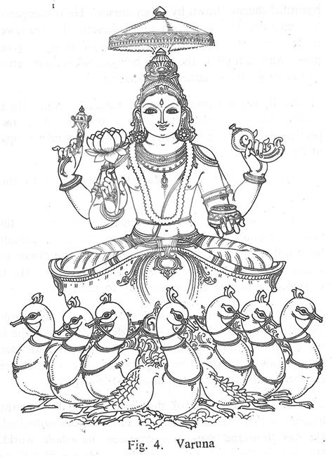 hindu coloring book coloring pages