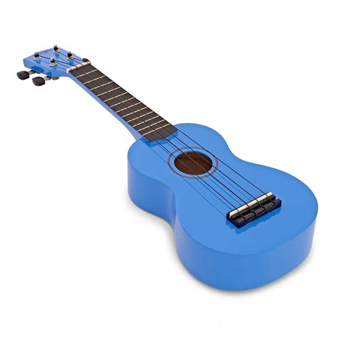 blue ukulele freshman ukebls1 pacific ukulele blue at gear4music