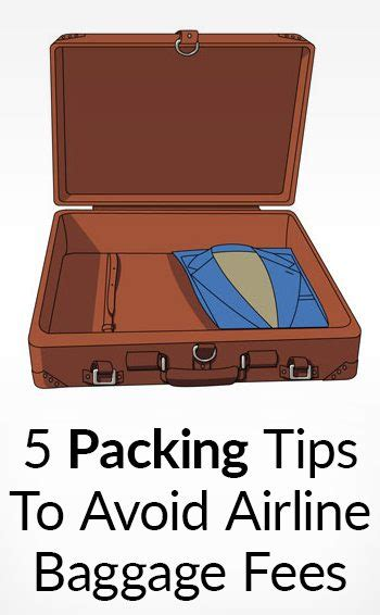 how to avoid checked baggage fees on major domestic 5 tips to save time baggage fees at airports tsa