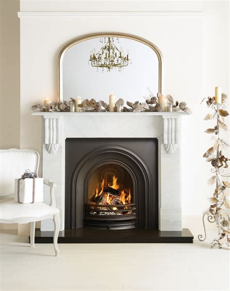 Decorative For Fireplace by Decorative Arched Insert Fireplaces Stovax Traditional