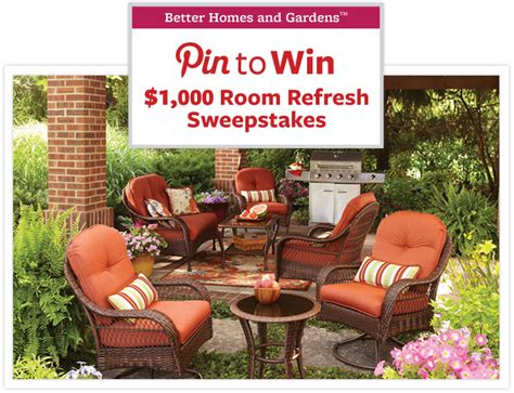 Betterhomesandgardens Sweepstakes - home and garden sweepstakes entry ask a pro outdoor sweepstakes bhg wintropics