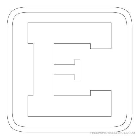 printable letters block printable block letter stencils free printable stencils