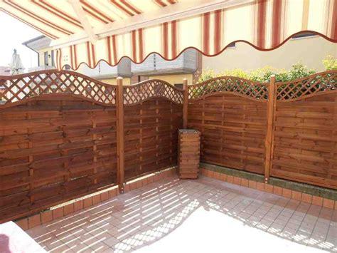 frangivento da giardino pannelli frangivento in legno romax