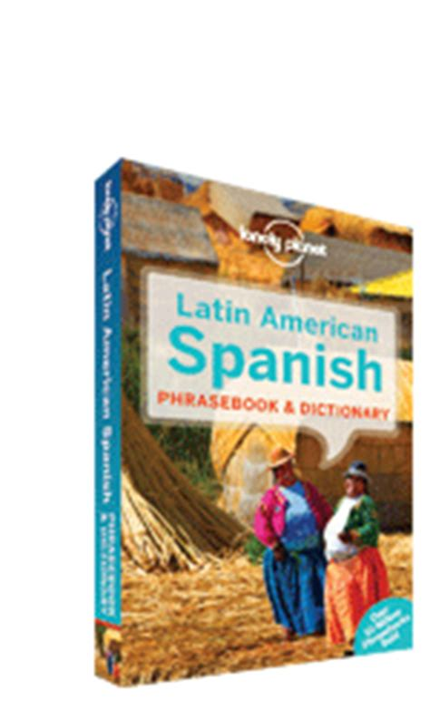 lonely planet latin american spanish phrasebook shop search key safe raa