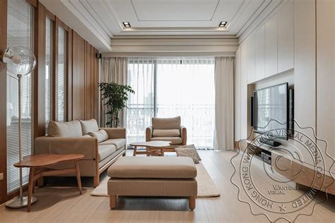 closet dining room south korean style 3d house simple korea style living room 3d interior rendering