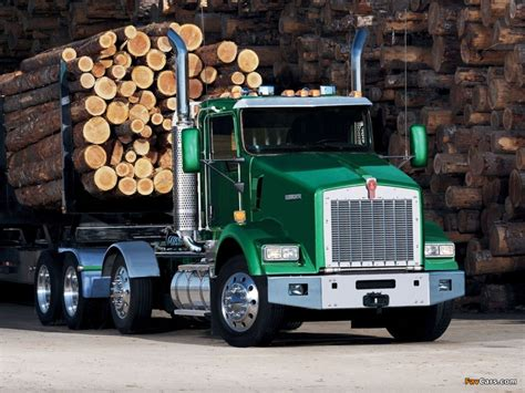 kenworth 18 wheeler for sale wallpapers of kenworth t800 2005 1024x768