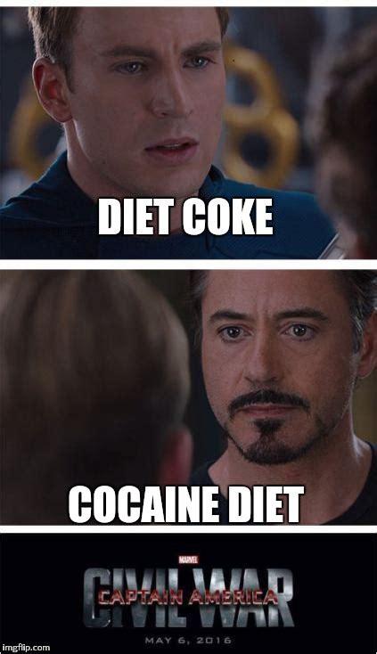 Diet Coke Meme - marvel civil war 1 meme imgflip
