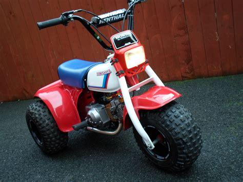 Honda Atc 70 by Honda Atc 70 Monkeybike Restored