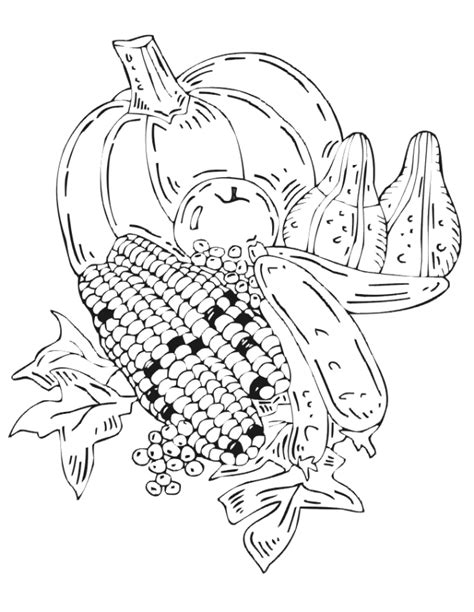autumn harvest coloring pages free coloring pages of autumn harvest