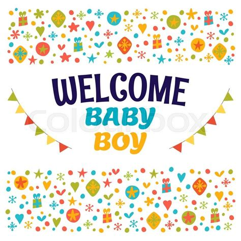 Welcome Baby Shower by Welcome Baby Boy Baby Boy Shower Card Baby Boy Arrival