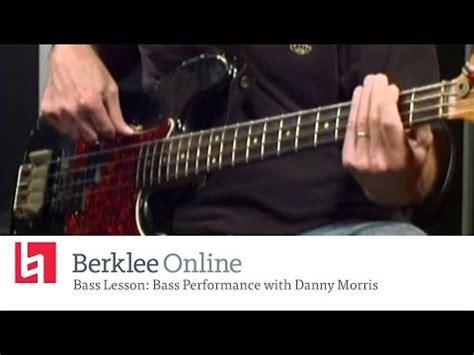berklee bass clinic danny morris