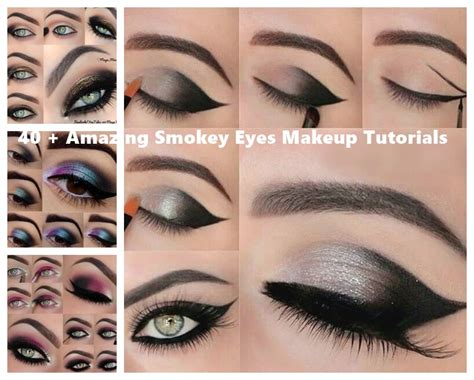 eye makeup tutorial no eyeliner 40 smokey eyes makeup tutorials wonderfuldiy