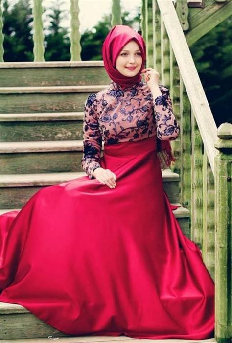 elbise modelleri kombin modelleri tesett r giyimde son moda elbise tesett 252 r kombin moda selvim