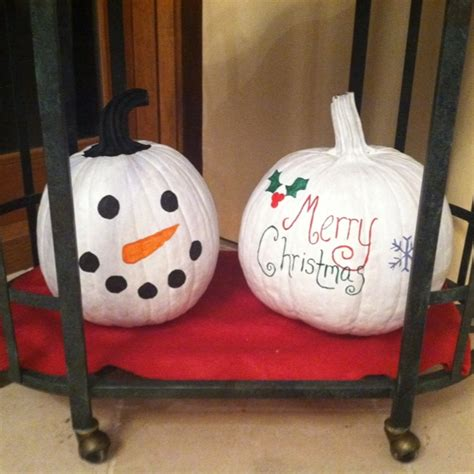 pumpkins decorated for christmas 8 best pumpkins images on pumpkins crafts and