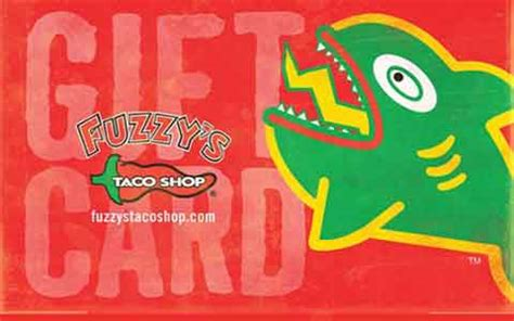 Taco Shop Gift Cards - buy fuzzy s taco shop discount gift cards giftcard net