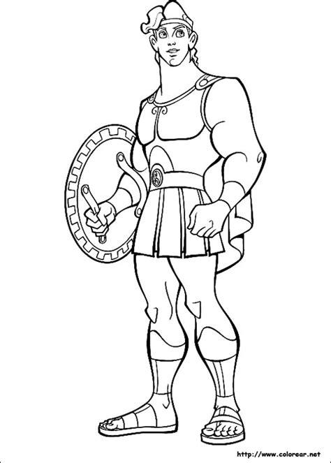 imagenes de dios zeus para dibujar dibujos para colorear de hercules