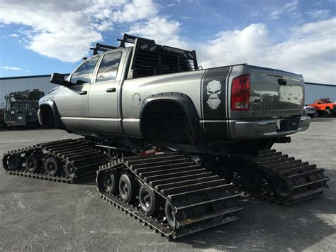 2005 Custom Dodge 2500 Cummins Tucker Snowcat Conversion