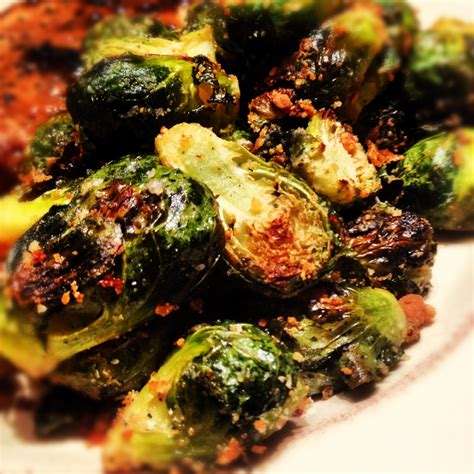 parmesan roasted roasted parmesan brussels sprouts homemaker chic