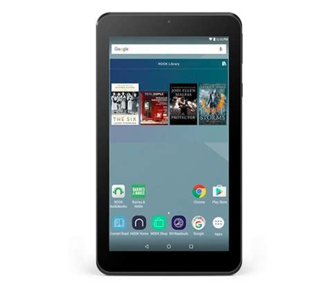 android for nook barnes and noble nook tablet 7 inch now official with play services for 49 99 android