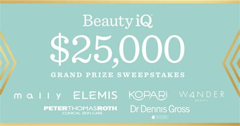 Qvc Sweepstakes - beauty iq qvc sweepstakes win 25 000 and weekly beauty prizes