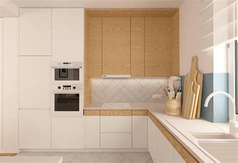 cocina encimera madera 30 ideas de cocinas en blanco y madera i cocinas con