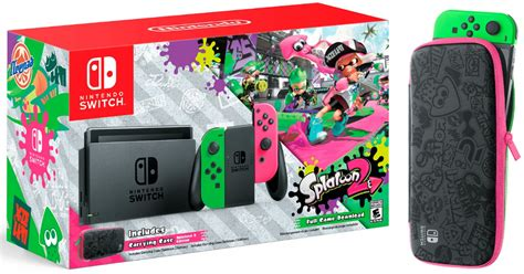 Pre Order the Nintendo Switch Console with Splatoon 2