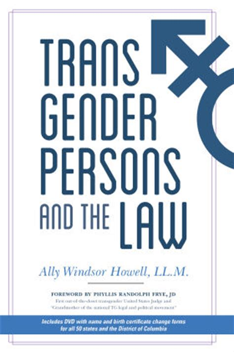 american bar association health law section 4319 transgender persons and the law gay lesbian bi