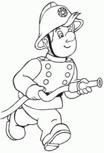 fireman coloring pages fireman coloring page