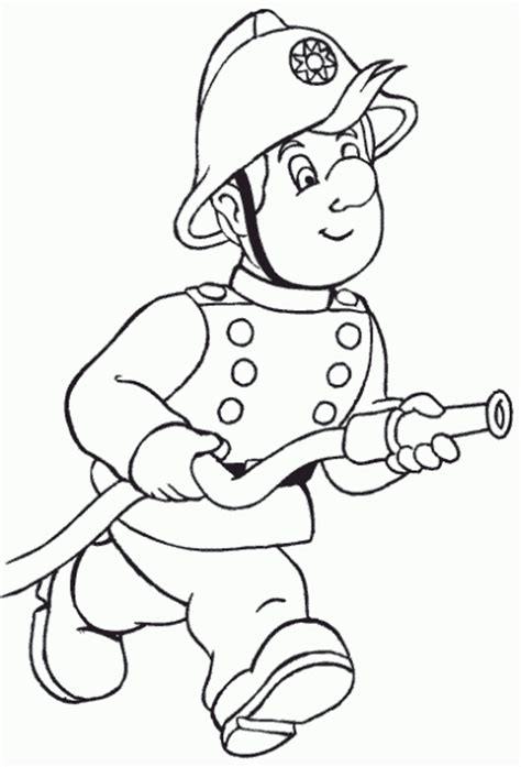 Coloring Pages Fireman firemen coloring pages coloring pages