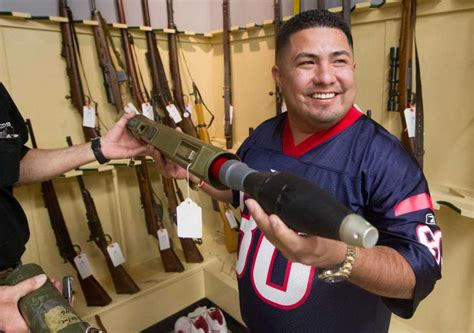 Arms Room League City Tx by Gun Buyers Score At Auction With On Target Bids Houston