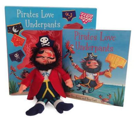 pirates love underpants pirates love underpants book plush claire freedman 9781471145155