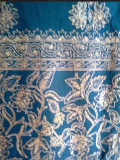 Batik Rina Motif Daun kambang tuk manggis batik kalimantan batik