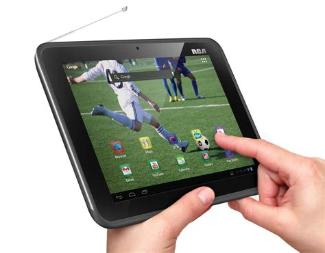 Tv Mobil Android rca mobile tv tablet is an android tablet with 130 tv stations