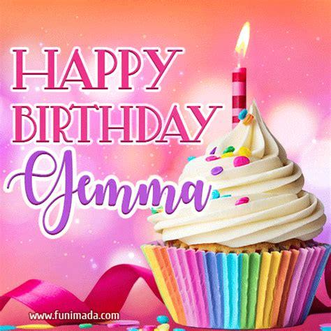 happy birthday gifs  gemma   funimadacom