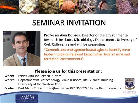 seminar invitation card template seminar invitation department of microbiology