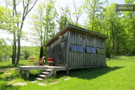 Weekend Rental Cabins Rustic Modern Tiny Cabin Yours For The Weekend Tiny