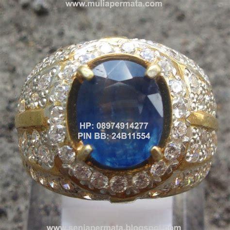 Perhiasan Batu Permata Asli Blue Safir Cutting Kotak cincin permata blue sapphire 172 batu permata batu mulia akik antik asli senja