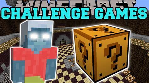 minecraft lucky block mod game online minecraft evil steve challenge games lucky block mod