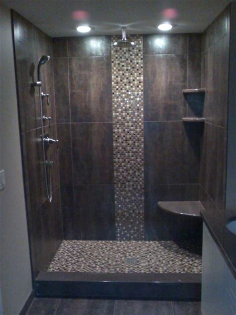 Shower Surrounds by Stand Up Shower Ideas Amazing Bathroom Tile Ideas To