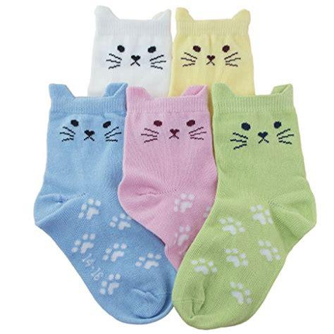 Toddler Cotton Spandek Seamed Utility tandi cotton novelty cats crew no seam socks 5 pairs pack sockscentre find new