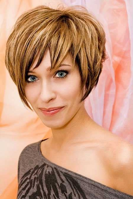 short pixie cut caramel short length hair highlights with caramel color