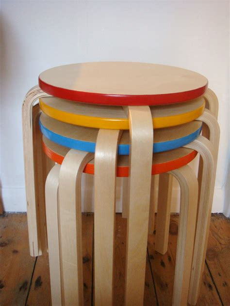 Stacking Stools by Tapestry Wooden Stacking Stools