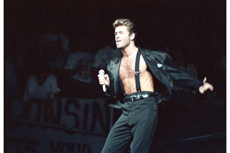 george michael portfolio george michael s stage style in 17 pictures