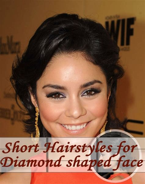 hairstyles for curly hair diamond face shape is a short hairstyle right for you shape hairstyles