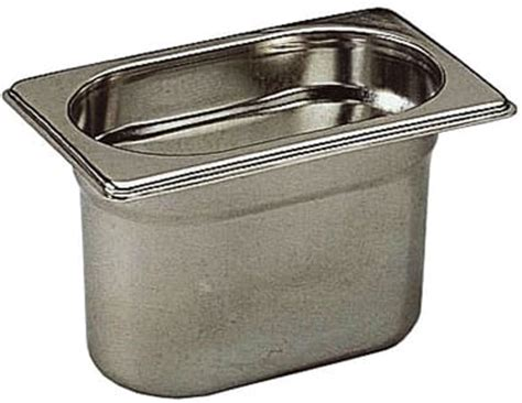 Food Pan 1 6 Ketinggian 15 Cm Stainless Steel Mutu Pan 16150 1 stainless steel gastronorm container gn 1 9 h 6 5cm