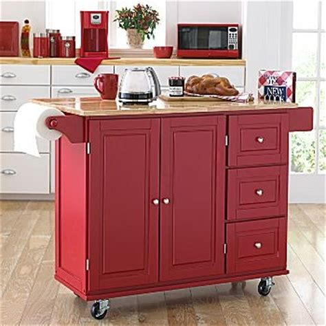 red kitchen island cart kitchen cart could diy with ready made cabinets mom s