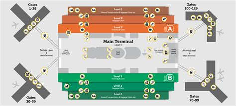 mco map disabled access orlando international aiport mco