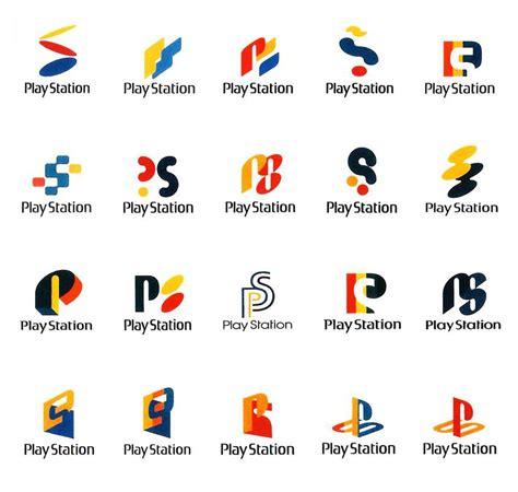 ideas logo ideas y logotipos del concepto de playstation paredro