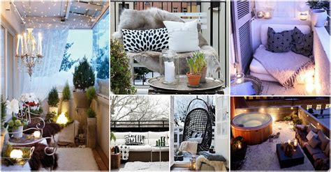 decorating ideas for winter make your own winter with these winter balcony