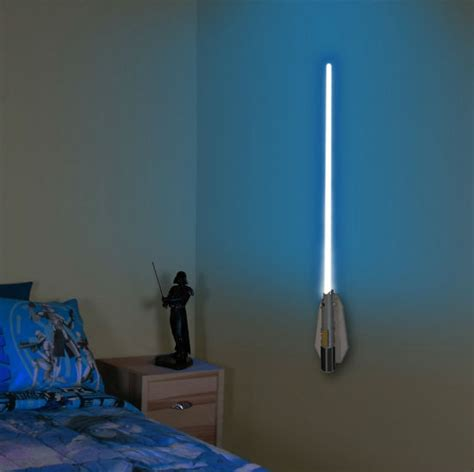 Wars Light Up Wall by Lightsaber Wall Sconce